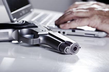 Computer gun