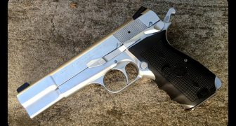 The Browning Hi Power for Home Defense
