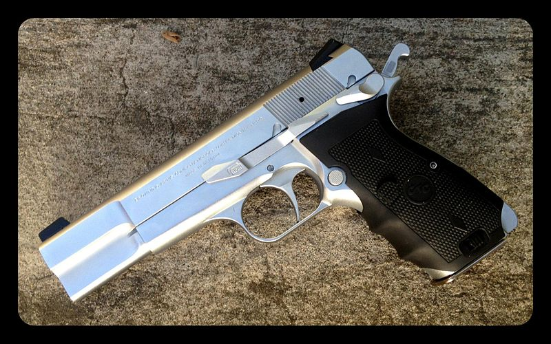 Browning Hi Power for Home Defense