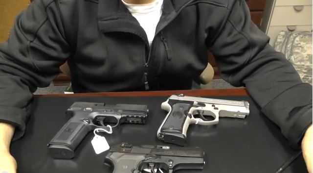buying a used pistol