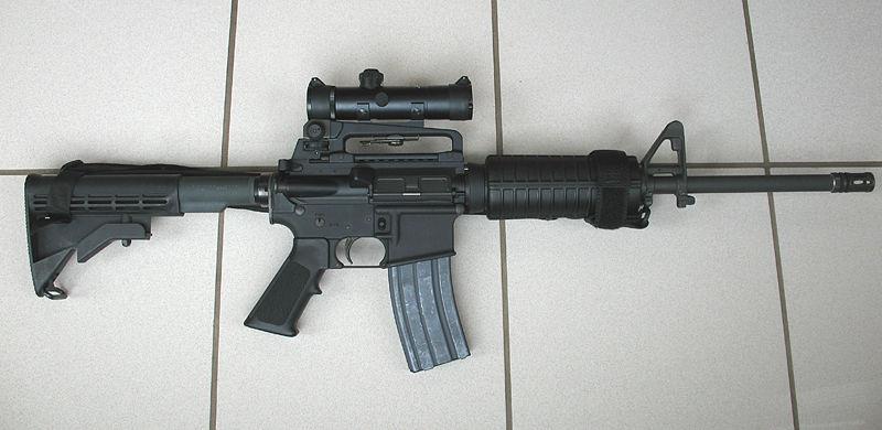 ar-15 for home defense