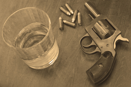 firearms and alcohol