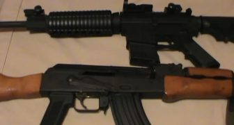 AR15 versus AK47