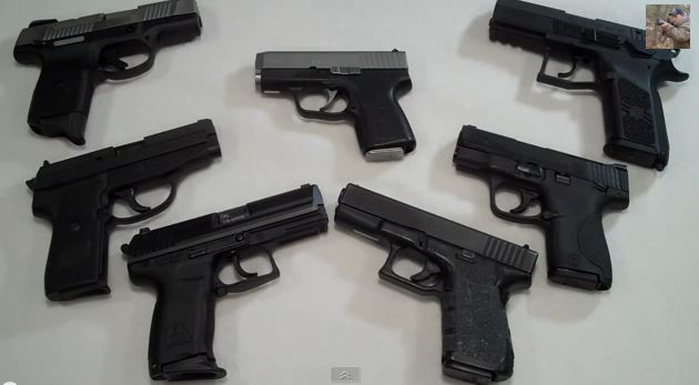 9mm handguns for home defense