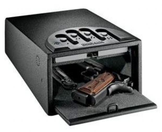 GunVault MiniVault Deluxe Handgun Safe