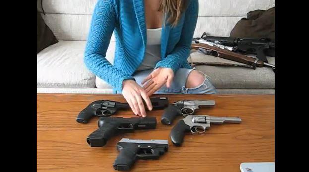 first gun for a woman