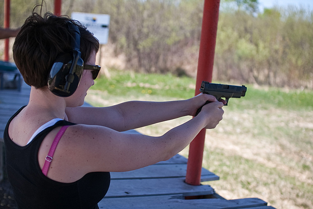 teach a woman to shoot