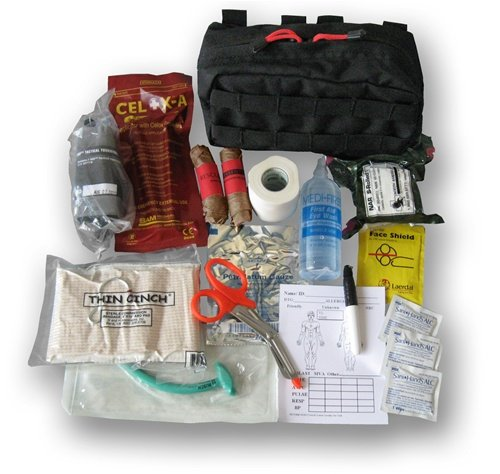Range bag 1st aid kit