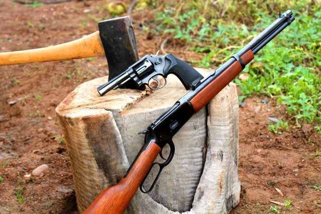 lever action rifles