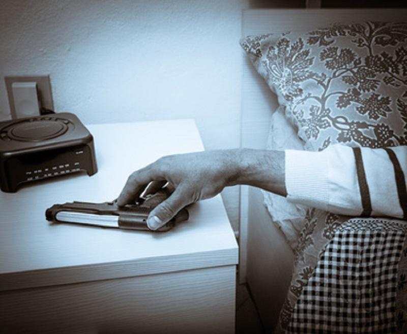 bedside gun