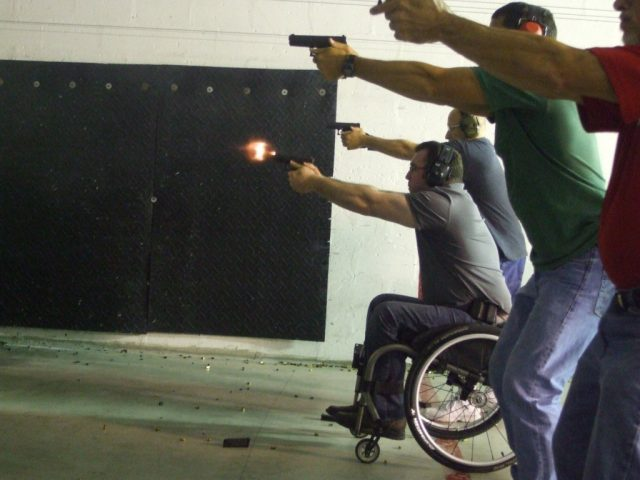 disabled and home defense
