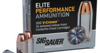 Sig Sauer V-Crown Defense Ammunition