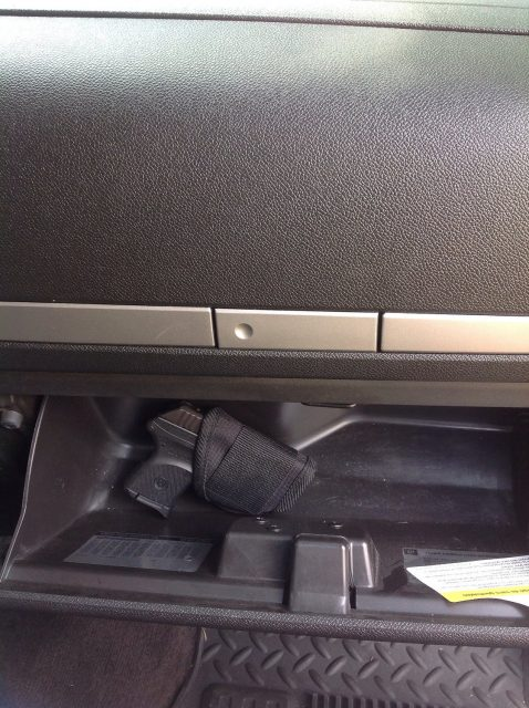 glovebox holster