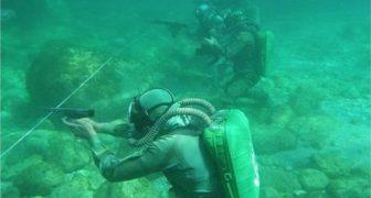 Shooting a Gun Underwater