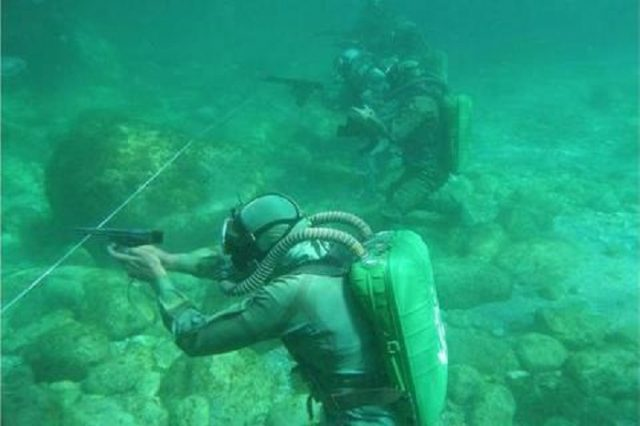 Shooting a Gun Underwater