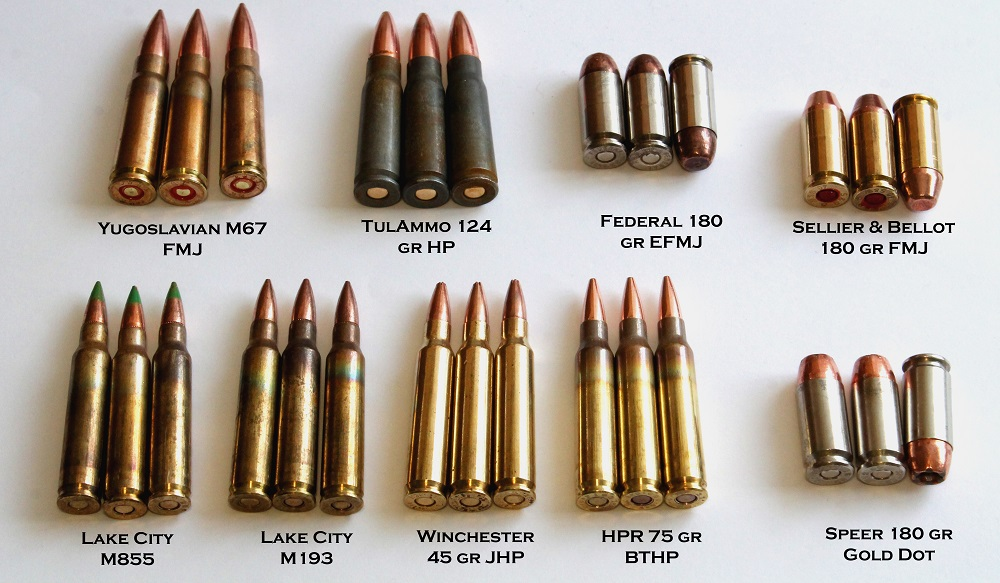 wet ammunition