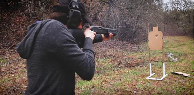 doing shotgun drills