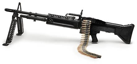 machine-gun