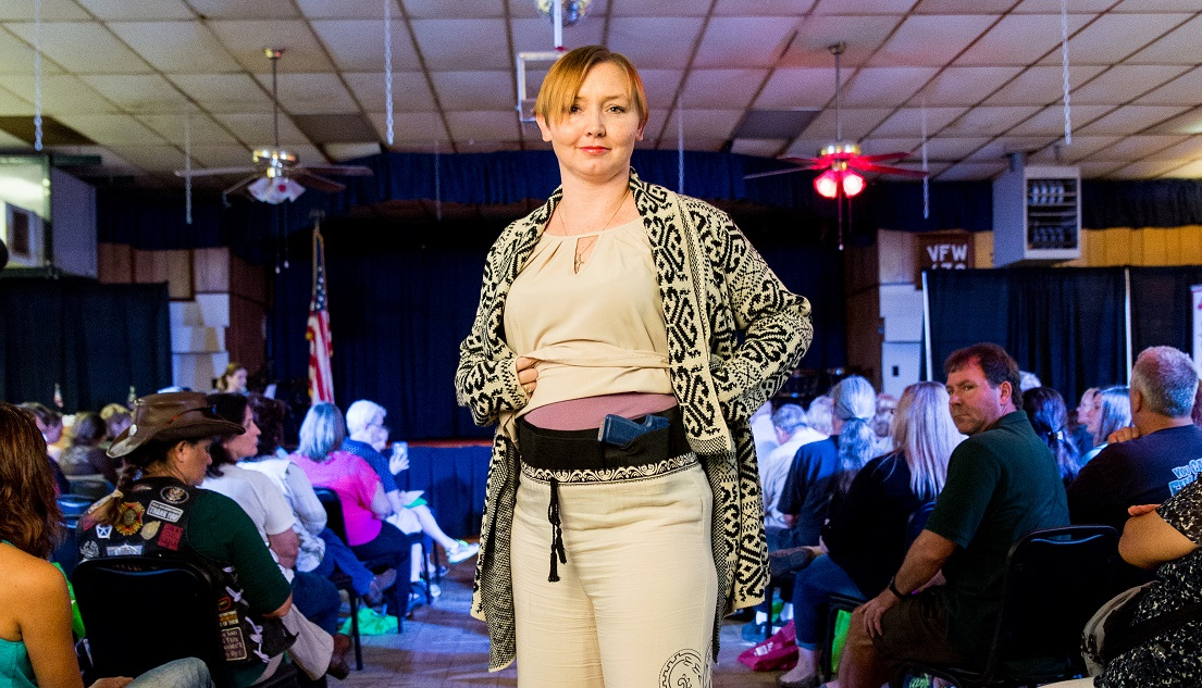 concealed carry fashion show