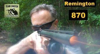The Remington 870 Shotgun